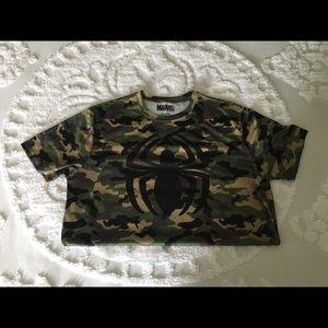 Marvel camo T-shirt